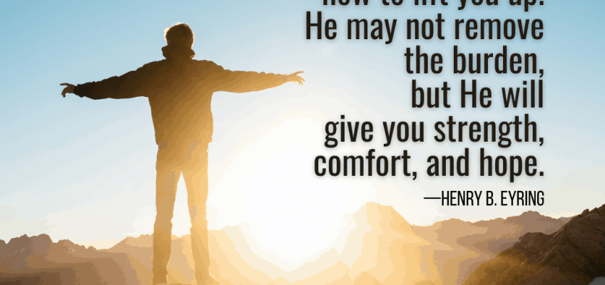 Comfort Archives Latter Day Saint Scripture Of The Day