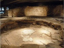 The baptistery pool Milan