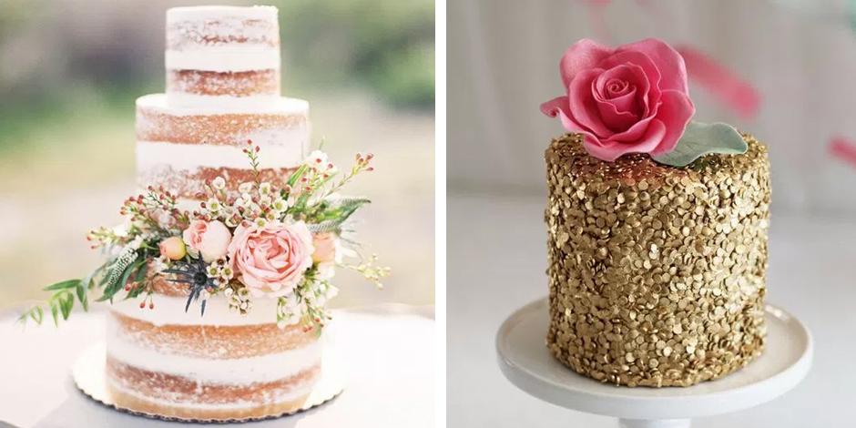 5 Easy DIY Wedding Cakes