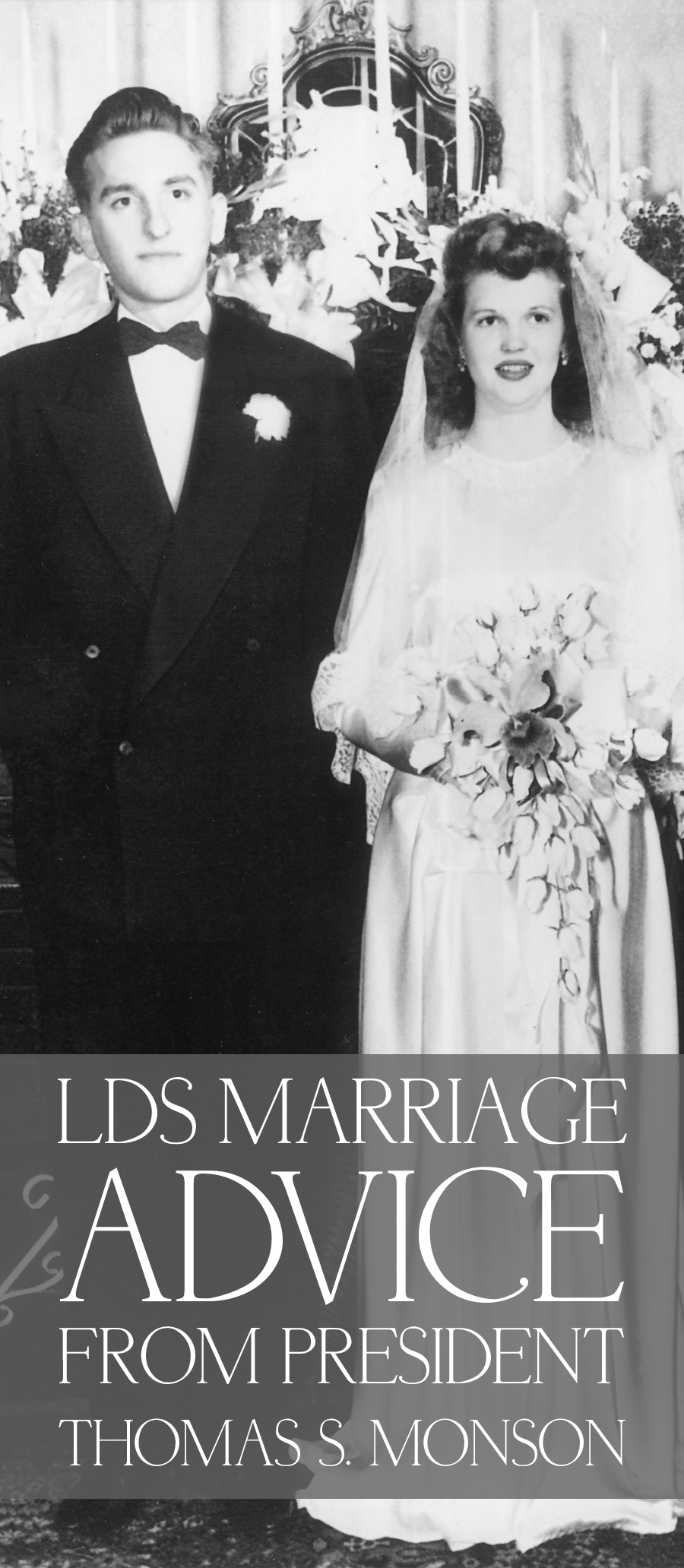 LDS Marriage Advice from President Thomas S Monson Pin
