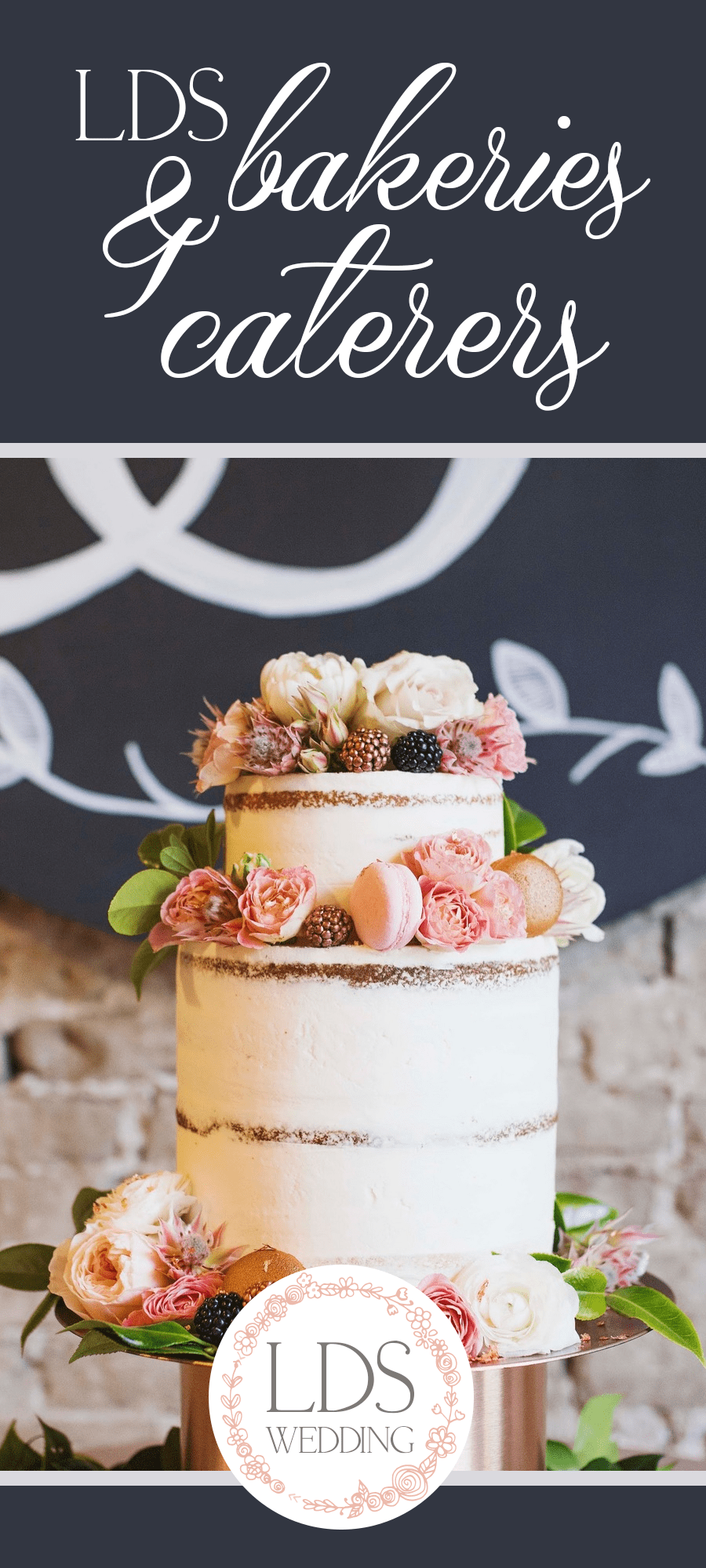 LDS Wedding Cakes, Bakeries & Caterers