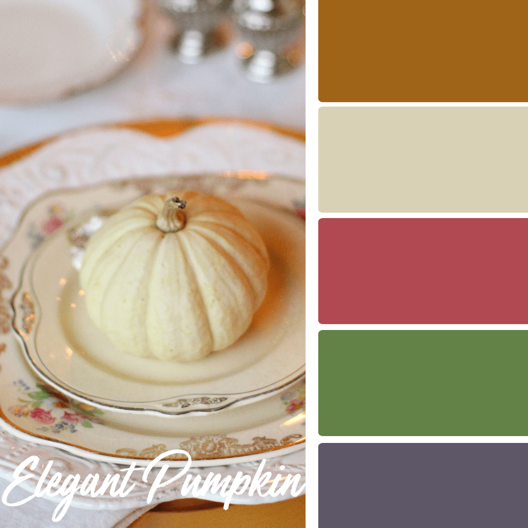 Elegant Pumpkin - 25 Fall Wedding Colors Any Bride & Groom Will Love