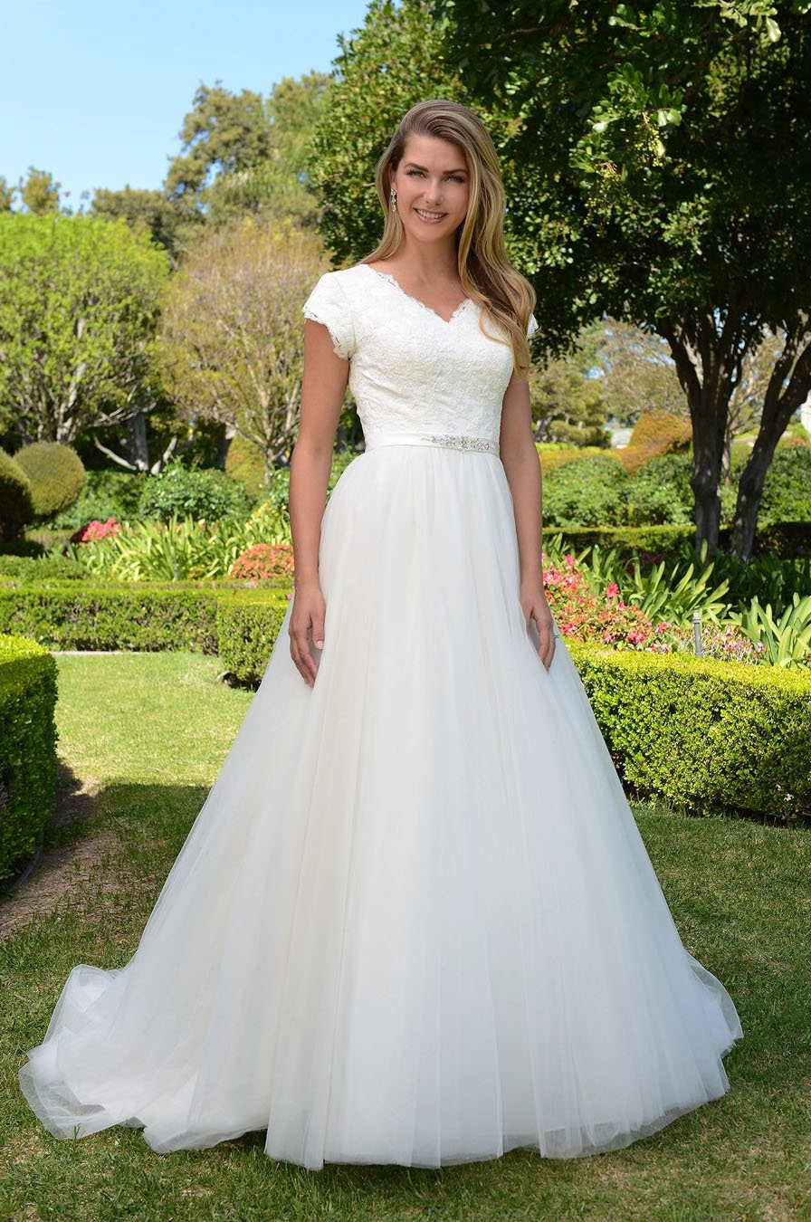 htt25 Modest Ball Gown Wedding Dresses - 17p://www.venusbridal.com/venus-modest/2668-tb7722.html