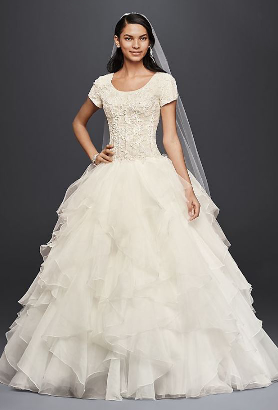 25 Modest Ball Gown Wedding Dresses - 22