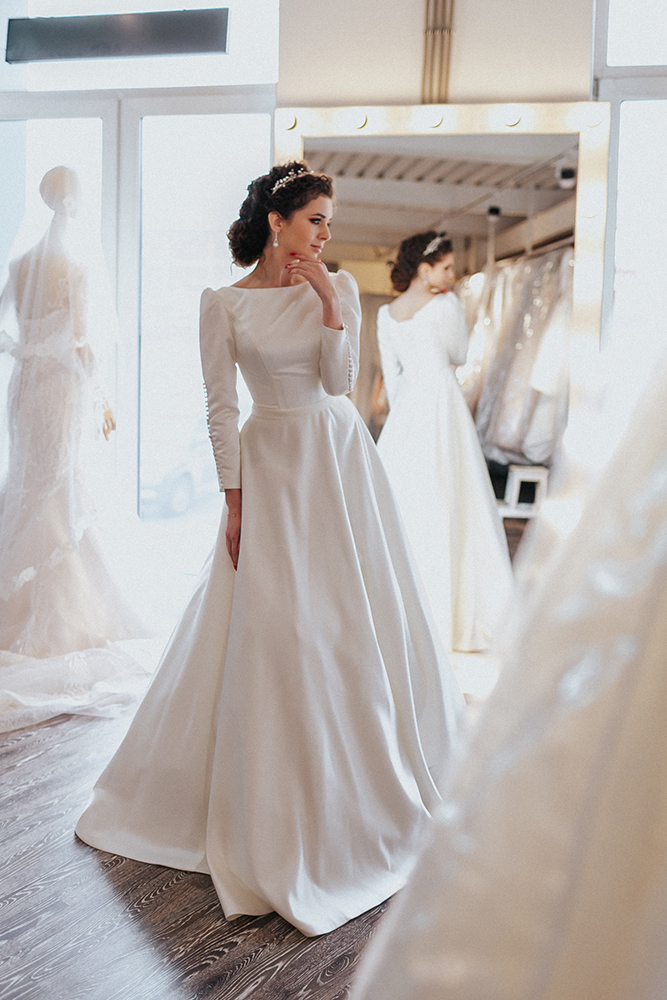 25 Modest Ball Gown Wedding Dresses - 25