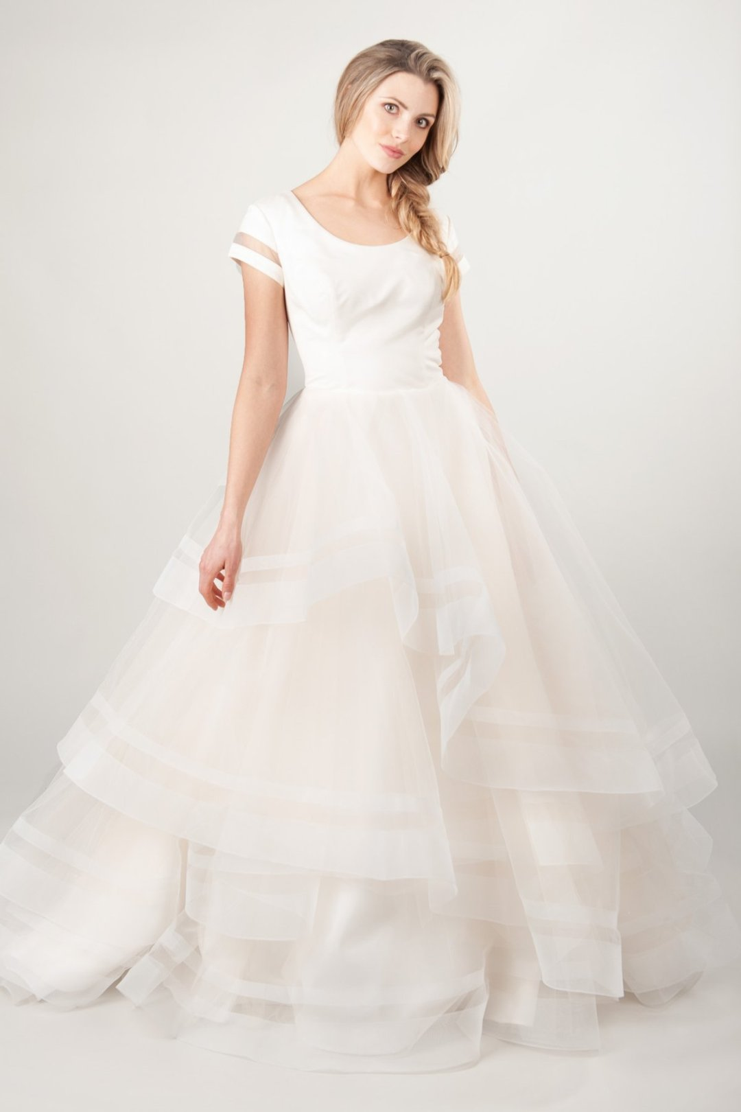 25 Modest Ball Gown Wedding Dresses - 5