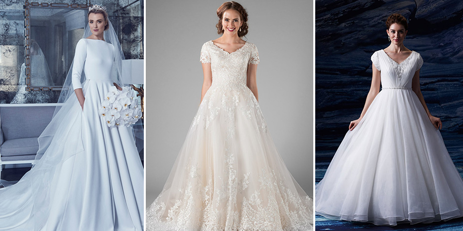 25 Modest Ball Gown Wedding Dresses