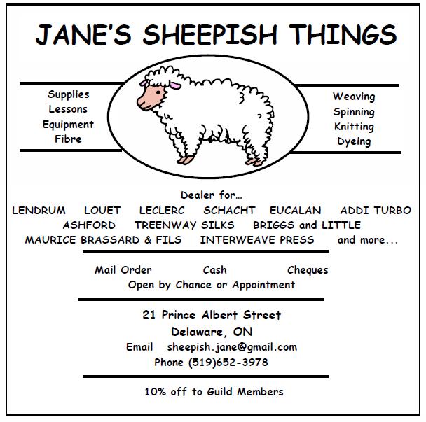 Jane's sheepish things