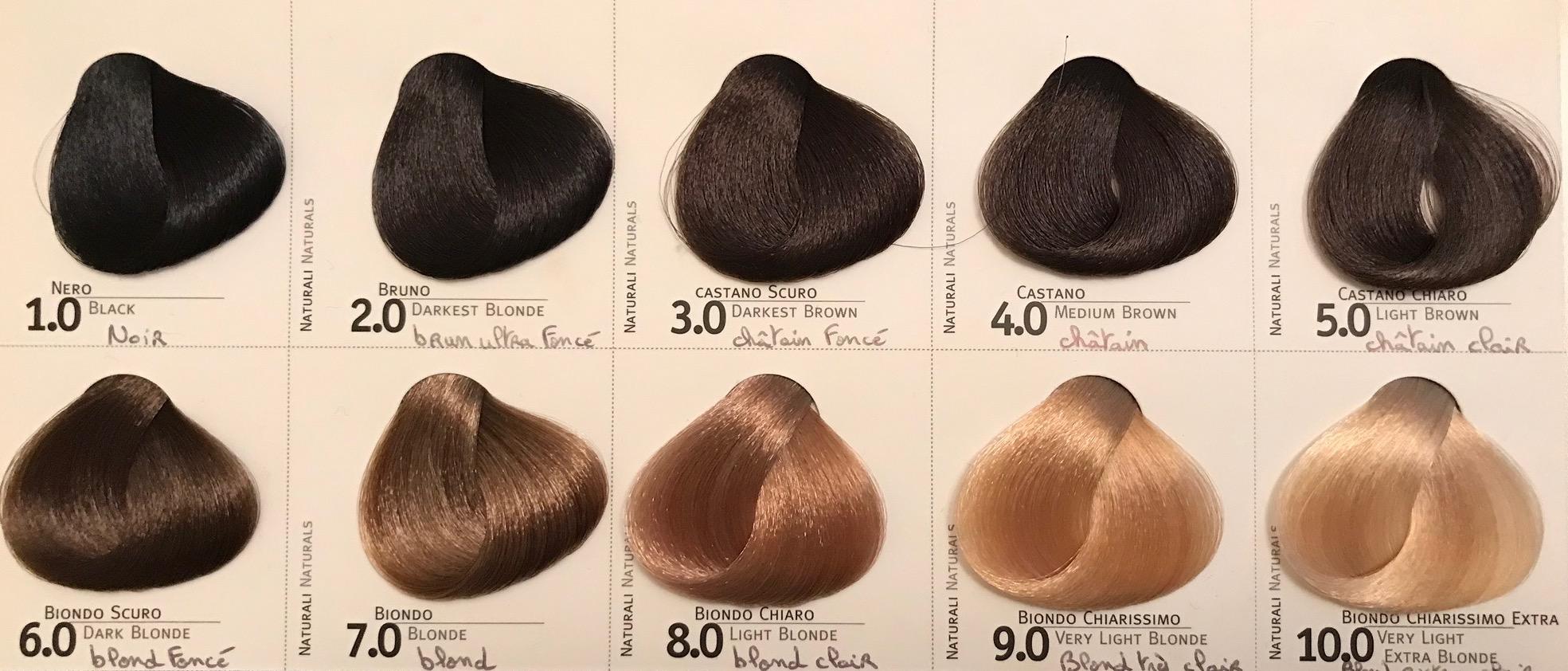 Coloration cheveux 8 11