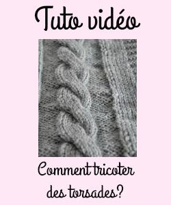 Comment Tricoter Des Torsades