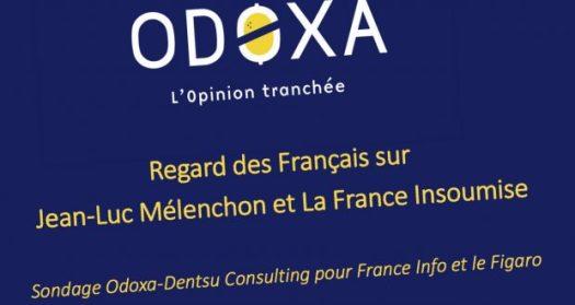 sondage odoxa pour melenchon bashing