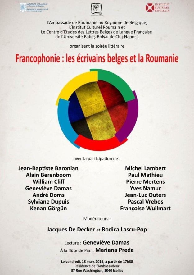 Journée de la Francophonie à Bxl