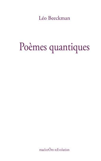 beeckman poemes quantiques