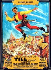 Affiche Les aventures de Till l'Espiègle gérard Philippe