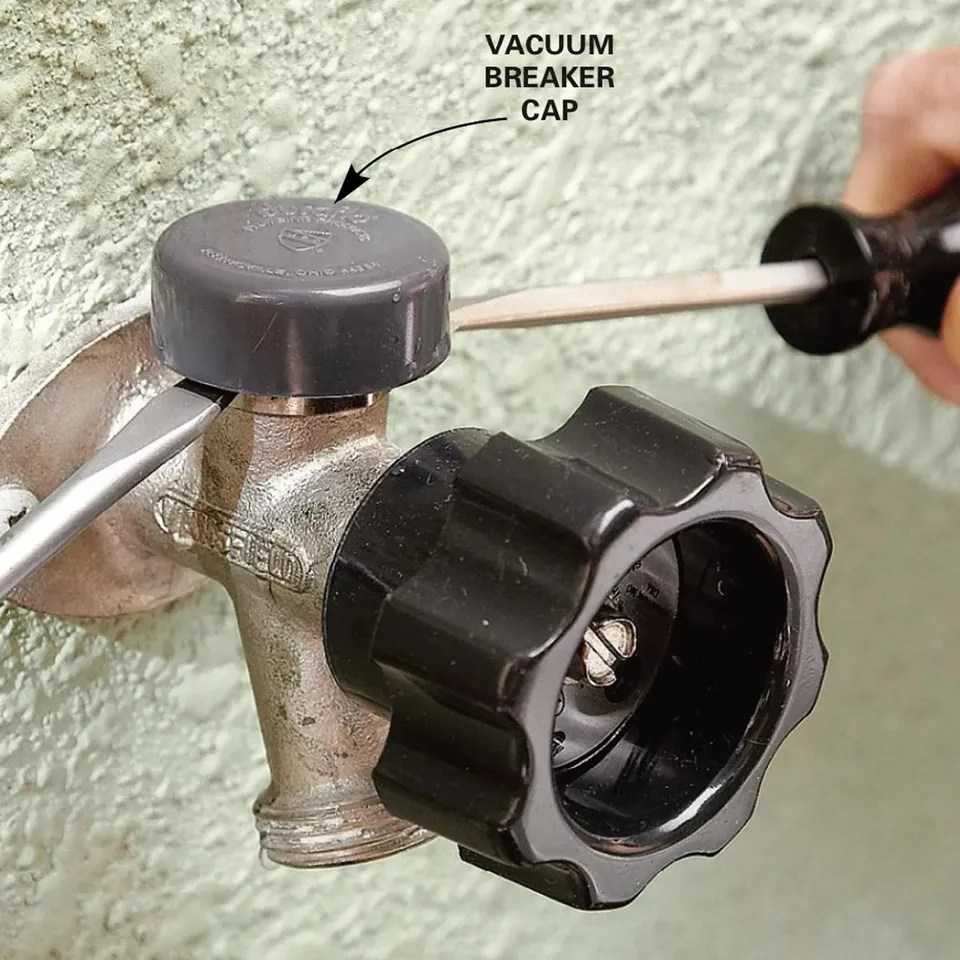 fix a leaking frost proof faucet