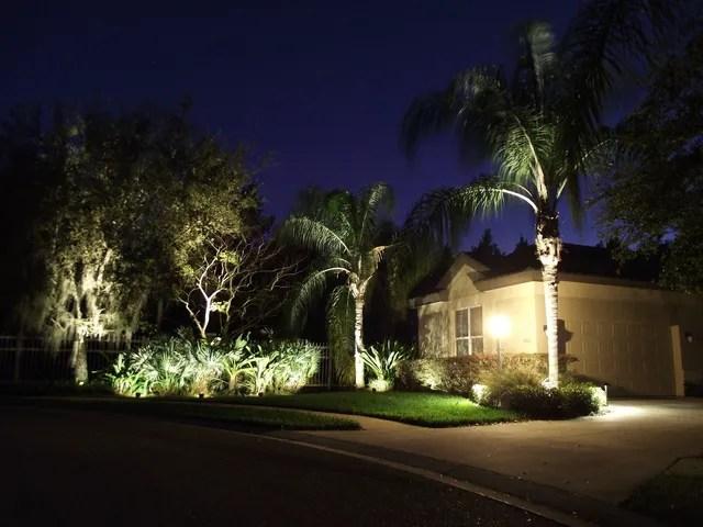 lighting installations landscape