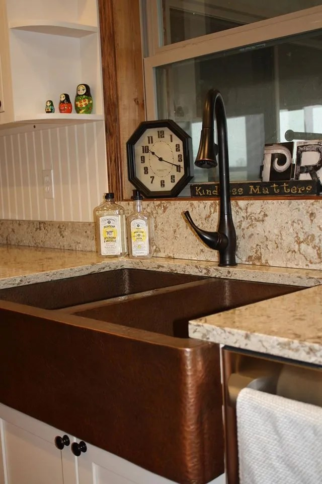 i want an apron front sink by johannah