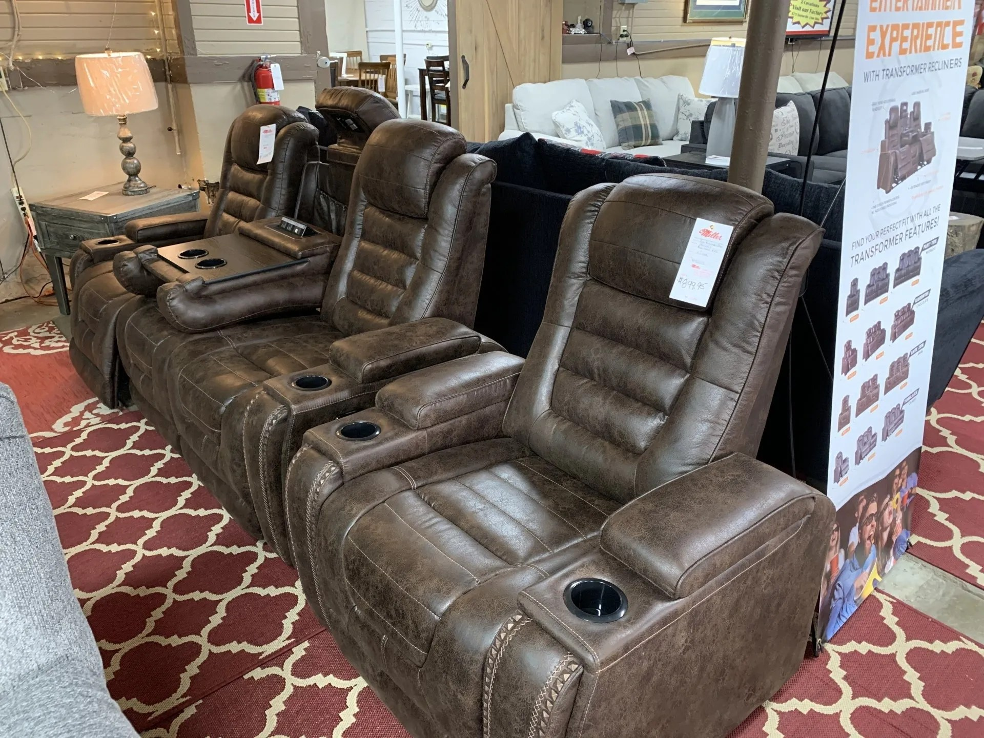 No matter your home's current style, leather furniture can add a timeless, homey, and even a luxurious twist to your décor. Furniture Showroom   Furniture Store Near Me   Springfield, OH