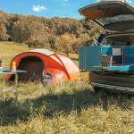 Camping Module Fur Den Kofferraum Bis Zum Camping Ausbau