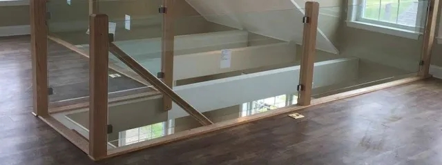 Glass Stair Railing Systems Newport East Greenwich Ri | Glass Stair Railing Systems | Iron | Custom | Contemporary | Baluster | Design