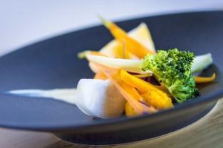 Plat du restaurant gastronomique le Chalet à Ax les Thermes en Ariège Pyrénées