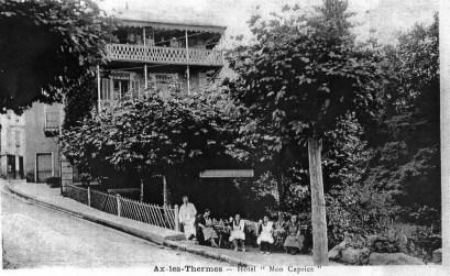Le Chalet 1900-1910 Ax les Thermes