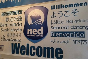 Welcome_NED_Training_Centre