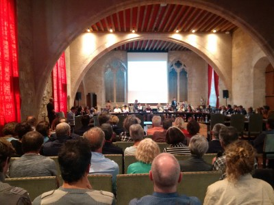 AREVA / Malvési: une intéressante réunion d'information des élus et du public à Narbonne