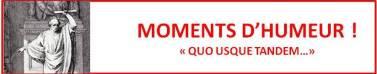 Moments d'Humeur !