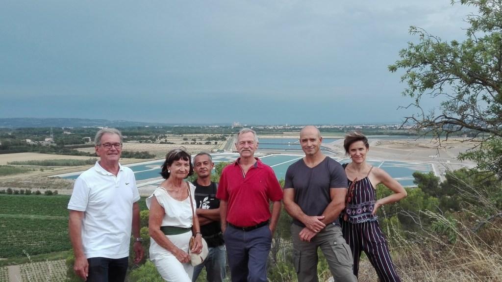 José Bové en visite à Malvési au soutien des opposants au projet TDN AREVA