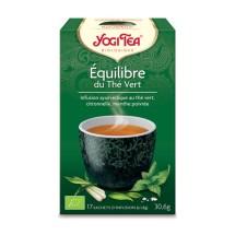 Yogi Tea - Équilibre du Thé Vert bio (17 sachets)