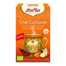 Yogi Tea – Chaï Curcuma bio (17 sachets)