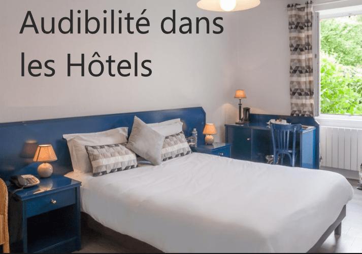 Audibilité dans les hôtels