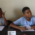 Deux élèves de primaire