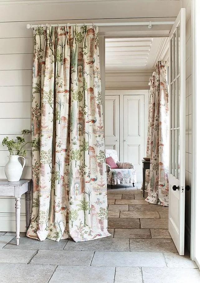 tissus pour rideaux tentures murales