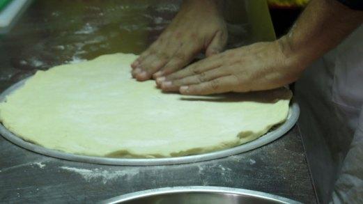 Receta de masa de pizza