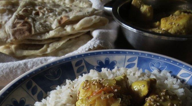 Pollo al Curry: Más Anglo que Indio