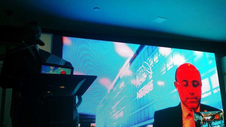 Edgar Domínguez en videoconferencia.