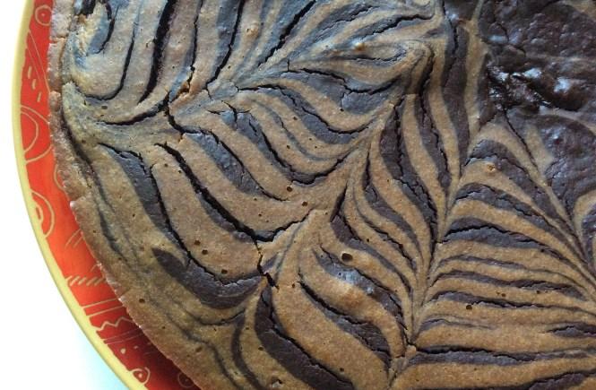 zebra cake vegan peau de banane
