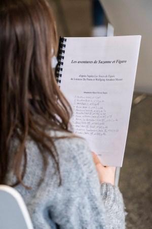 Répétition au collège Alain Fournier de Clamart © Julia Brechler/CD92