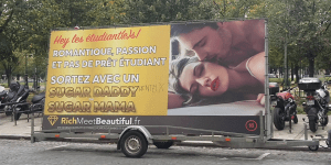 Rich Meet Beautiful et sa publicité controversée : Bad buzz ou super coup de com ?