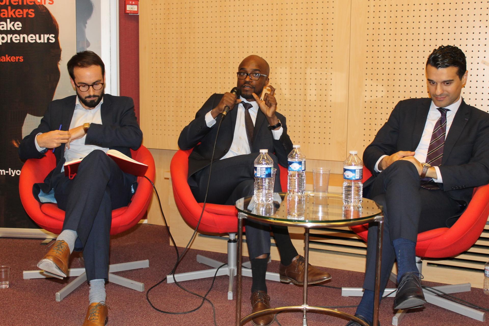 Table Ronde « Investir et entreprendre en Afrique : un pari fou ? »