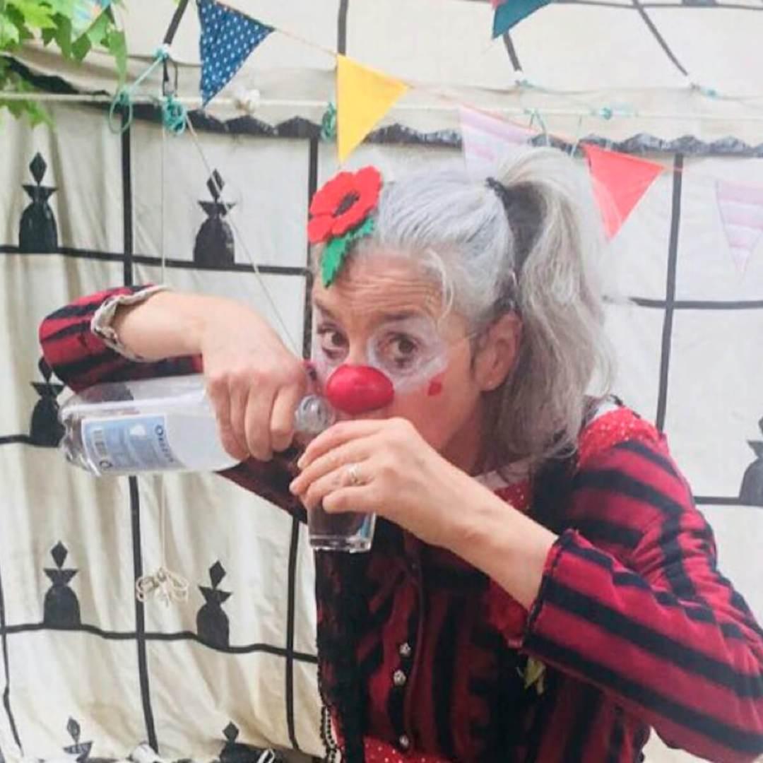 Emmanuelle Savin clown