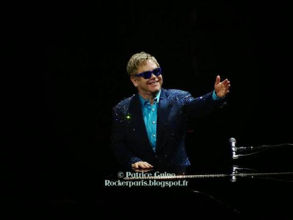 Elton John, Paris Bercy, 2014 © Patrice Guino | rockerparis.blogspot.fr