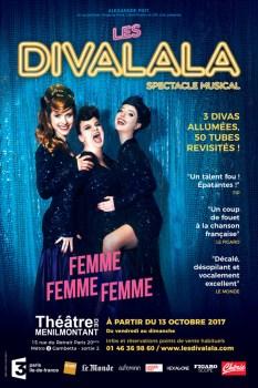 """DIVALALA """"FEMME FEMME FEMME"""" affiche"""