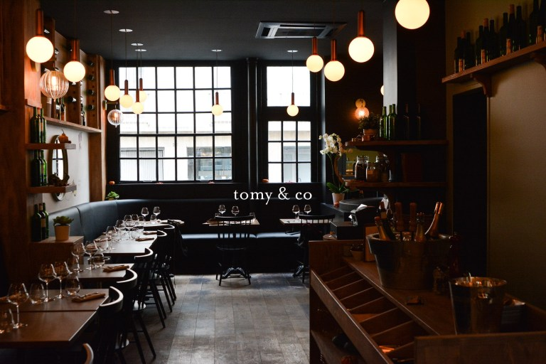 tomy and co paris restaurant
