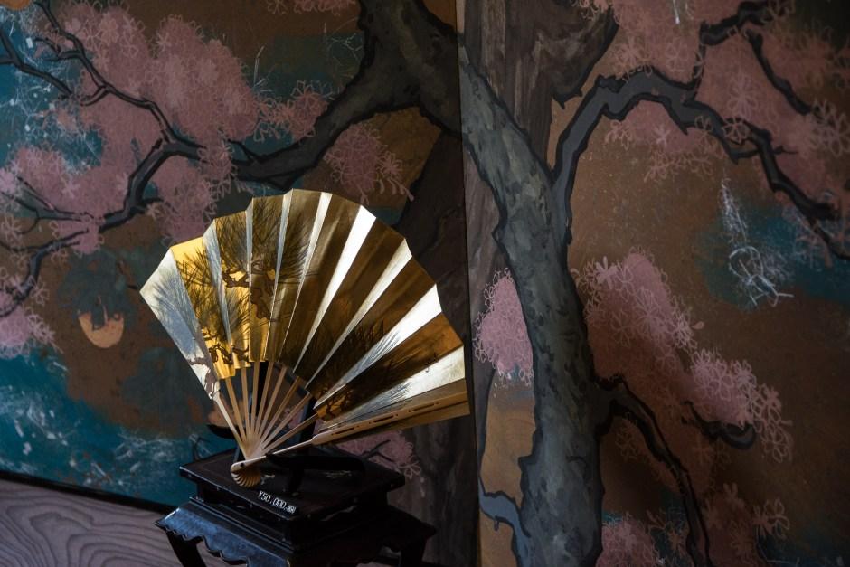 atelier du peintre Allan West dans le quartier de Yanaka à Tokyo