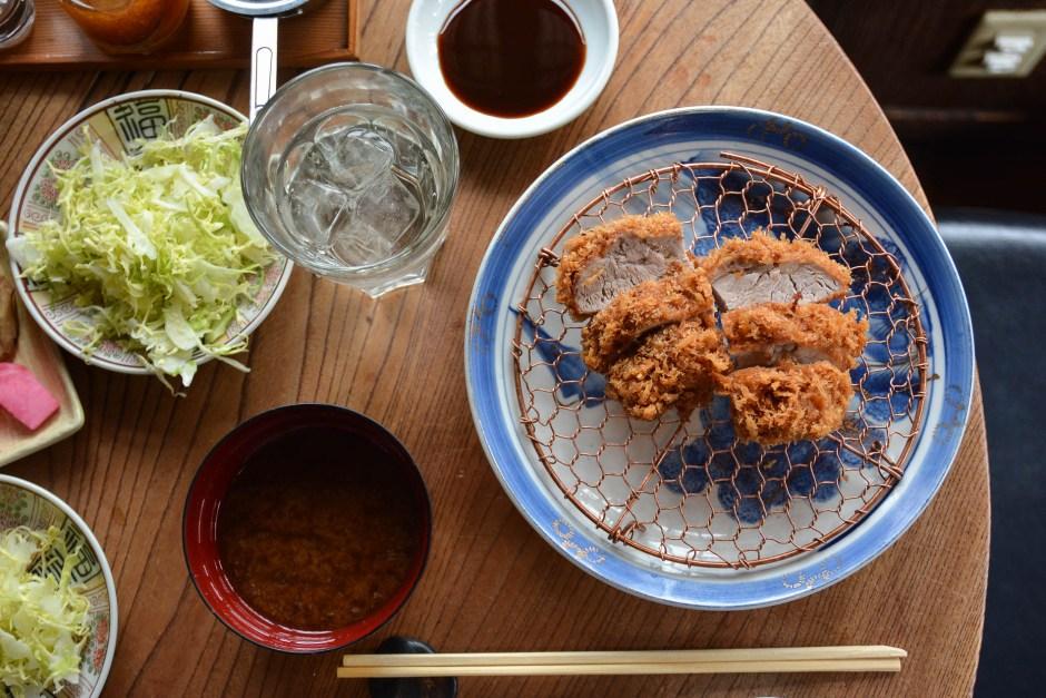 le restaurant de tonkatsu Butagumi à Tokyo
