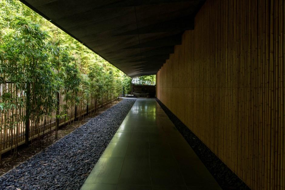 Le musée Nezu par Kengo Kuma à Tokyo