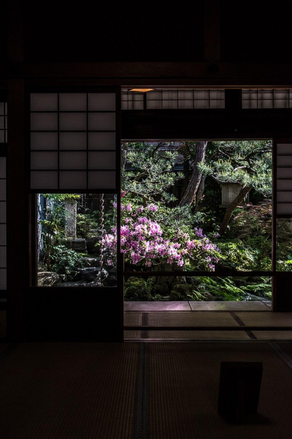 la maison de samouraï Nomura House dans le quartier Nagamachi à Kanazawa dans les Alpes Japonaises